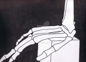 Skeleton Hand by Bestestcat