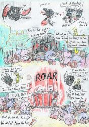 Cynder and the Pugglies. Comic page 1 by Grimmyweirdy