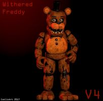 Blender Withered Freddy V4 by CoolioArt