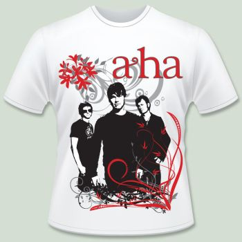 Camiseta a-ha by rosye