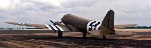 C-47 Parked by spcefrk