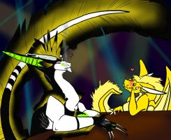 Anthrax And Sunwind Clubbing by DragonsFlameMagic