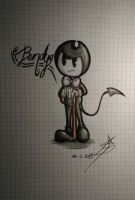 Bendy the dancing demon by InkingSky