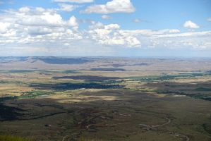Open Spaces Wyoming Landscape by Trisaw1