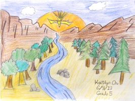 by Kaitlyn Chu - 5th grade by DH-Students-Gallery
