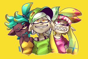 -The Squad!- by Nyanamo