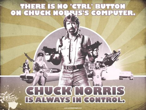 Chuck Norris Wallpaper by thereverend3k