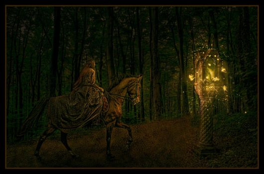 Lighted Path by spiritsighs