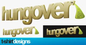 Hungover T-Shirt design by typoholics