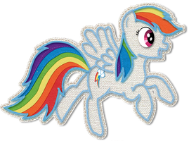 Rainbow Dash's Totally Awesome Epic Yarn by ScootLoops