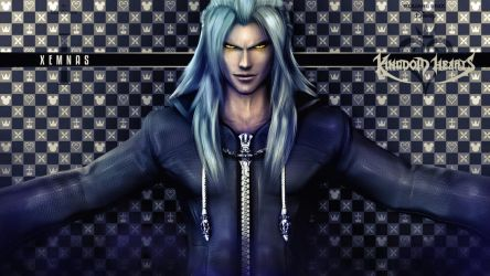 Xemnas Wallpaper Remake V2 by LexaKiness