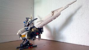 LEGO Gundam Bael ASW-G-01 *just for fun by demon14082000