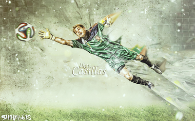Iker Casillas by Shihab618