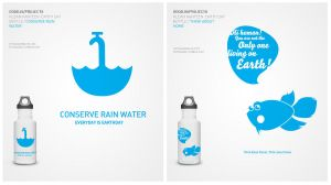 Klean Kanteen Bottle Graphics by freakyframes