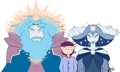 The Royal family by Monster-Cross