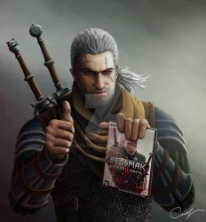 The Witcher - Geralt from Rivia. by Maxifen by Maxifen