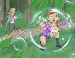 An epic bubble by Spartly