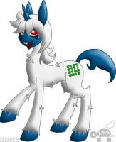 PKMNC: Wyborn Ponified by Rapha-chan