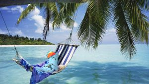 Rainbow Dash on a hammock (MLP in real life) by StormXF3