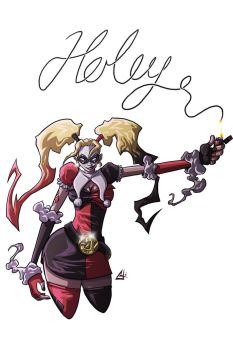 Harley Quinn s Commission by G-Chris