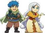 Amya Chibis by Blue-Ten