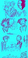 SOME MORE NONAME AND KIL DOODLES by Candys-Killer