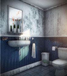 old restroom by jaxpc