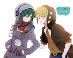 Kagerou Project-Couple by Momo-Honey