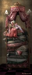 The princess and the pea by patriciabrennan