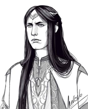 Feanor by MellorianJ