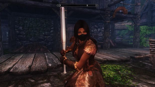 Creating Emma WFC 1 (Messing with Skyrim and Mods) by 1Rabbitty1