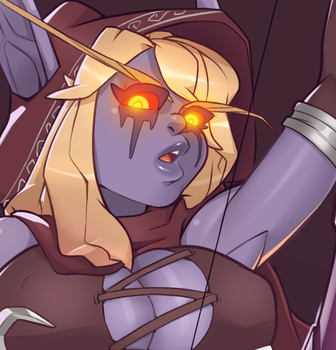 Sylvanas preview by R3dstar69