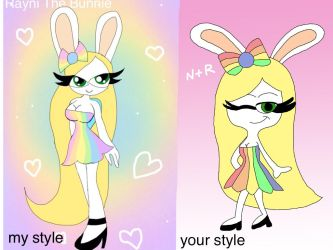 [STYLE MEME] Rayni Pastel Style by NycollasCoser