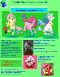 Commision List - Thanks a lot :D by AsajioPie01