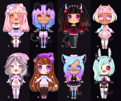 [CLOSED] ADOPTABLE BATCH #21 by OCshop