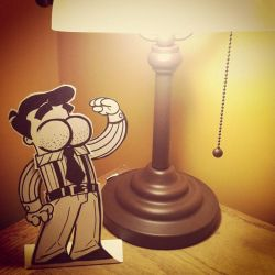 Honey, I Shrunk Detective Butts by Miss-Interocitor