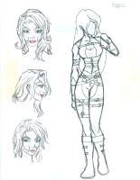 Character Sketch - Rogue by Morgaine-le-Fay