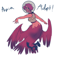 (CLOSED)Arpia Adopt by Plant--Mom
