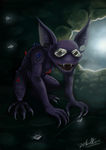 Gremlin of the Diamond Caves by TamarinFrog