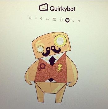Quirkybot Steambot 002 by enricobotta
