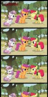 Cutie Mark Crusaders - Cuccotaloo by SterlingPony
