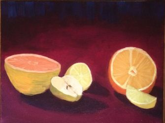 Still Life with Fruit by epjames
