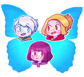 The Butterfly effect girls by sweetmashmellowroom