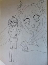 Draw by my friend(: by Kohana-sama1