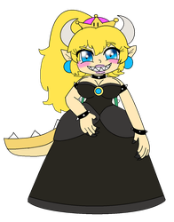 Bowsette by Scarlet-Magus714