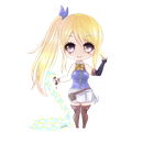 Timeskip Chibi Lucy by LoloHime