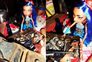 Spare Parts ::Robecca Steam :: by Shea-Hime