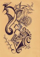 Zendoodle #3 by freedomswann