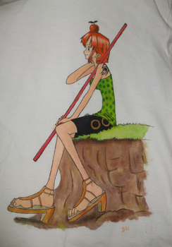 Camisa de Nami, One Piece by zumbibs