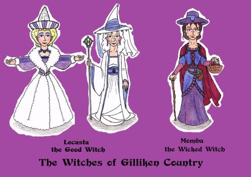 The Gilliken Witches of Oz (North) by SCDoctor